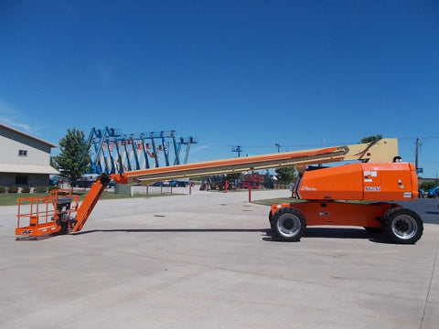 2004 JLG 860 SJ STRAIGHT BOOM LIFT AERIAL LIFT WITH JIB ARM 86' REACH DIESEL 4WD 4784 HOURS STOCK # BF98601S-RIL