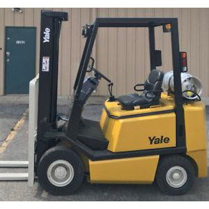 2000 YALE GLP040 4000 LB LP GAS FORKLIFT PNEUMATIC 84/130 2 STAGE MAST 6810 HOURS STOCK # 7649-06426X-ARB - united-lift-equipment