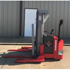 "2003 RAYMOND DSX40 4000 LB ELECTRIC FORKLIFT WALKIE STACKER  72/150"" MAST CUSHION 1764 HOURS STOCK # 5946-213002-ARB - united-lift-equipment"