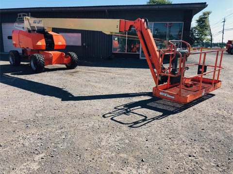 2004 JLG 860SJ STRAIGHT BOOM LIFT AERIAL LIFT WITH JIB ARM 86' REACH DIESEL 4WD 2529 HOURS STOCK # BF9391499-BUF