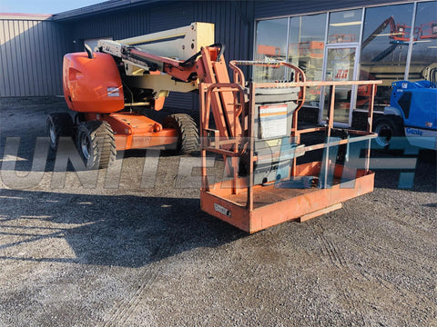 2011 JLG 450AJ ARTICULATING BOOM LIFT AERIAL LIFT WITH JIB ARM 45' REACH DIESEL 4WD 2247 HOURS STOCK # BF9295299-BATNY