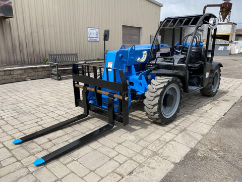 2016 GENIE GTH5519 5500 LB DIESEL TELESCOPIC FORKLIFT TELEHANDLER PNEUMATIC 4WD 2230 HOURS STOCK # BF9471529-NLEQ