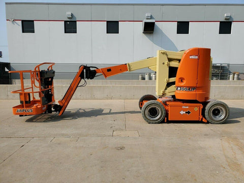 2013 JLG E300AJP ARTICULATING BOOM LIFT AERIAL LIFT 30' REACH ELECTRIC 2WD 550 HOURS STOCK # BF9022369-RIL