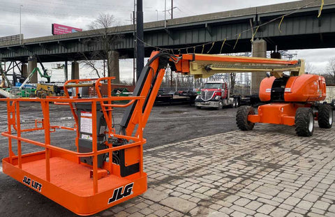 2008 JLG 860 SJ STRAIGHT BOOM LIFT AERIAL LIFT WITH JIB ARM 86' REACH DIESEL 4WD 2915 HOURS STOCK # BF9443119-NLEQ