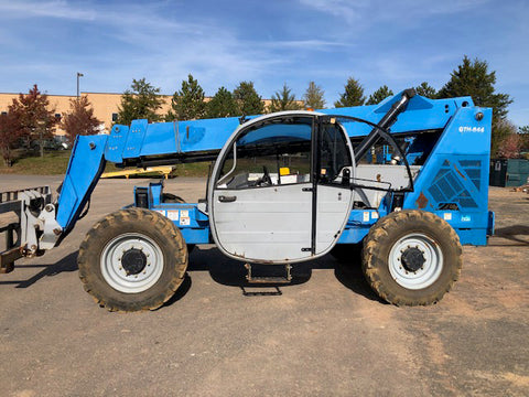 2012 GENIE GTH844 8000 LB DIESEL TELESCOPIC FORKLIFT TELEHANDLER PNEUMATIC 4WD 3650 HOURS STOCK # BF9383889-NLEQ - United Lift Used & New Forklift Telehandler Scissor Lift Boomlift
