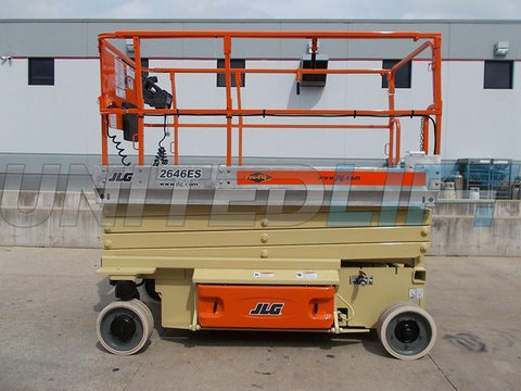 2010 JLG 2646ES SCISSOR LIFT 26' REACH ELECTRIC 44 HOURS STOCK # BF9558159-RIL