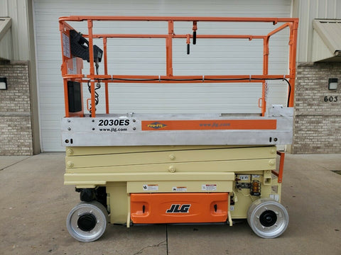 2013 JLG 2030ES SCISSOR LIFT 20' REACH ELECTRIC CUSHION 61 HOURS STOCK # BF9398759-RIL - United Lift Used & New Forklift Telehandler Scissor Lift Boomlift