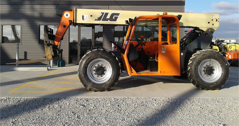 2012 JLG G6-42A 6000 LB DIESEL TELESCOPIC FORKLIFT TELEHANDLER PNEUMATIC 4WD 4057 HOURS STOCK # BF9370099-CEIL - United Lift Used & New Forklift Telehandler Scissor Lift Boomlift
