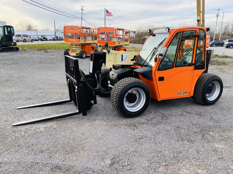 2013 JLG G5-18A 5500 LB DIESEL TELESCOPIC FORKLIFT 4WD ENCLOSED CAB 1879 HOURS STOCK #  BF9441199-BATNY - United Lift Used & New Forklift Telehandler Scissor Lift Boomlift