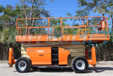 2006 JLG 4394RT SCISSOR LIFT 43' REACH DIESEL ROUGH TERRAIN 4WD OUTRIGGERS 2823 HOURS STOCK # BF9JLG70939-RIL2