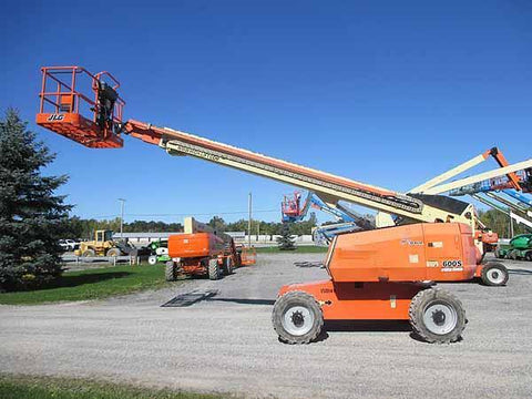 2011 JLG 600S TELESCOPIC BOOM LIFT AERIAL LIFT 60' REACH DIESEL 4WD 3128 HOURS STOCK # BF9542039-HLNY