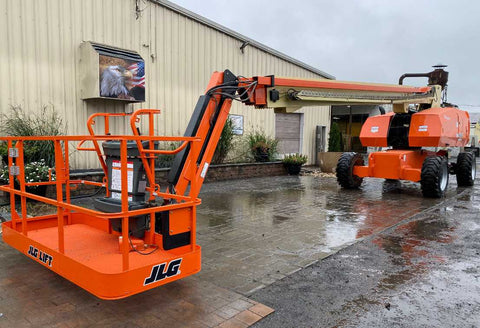 2012 JLG 860SJ STRAIGHT BOOM LIFT AERIAL LIFT WITH JIB ARM 86' REACH DIESEL 4WD 3571 HOURS STOCK # BF9492769-NLEQ - United Lift Used & New Forklift Telehandler Scissor Lift Boomlift