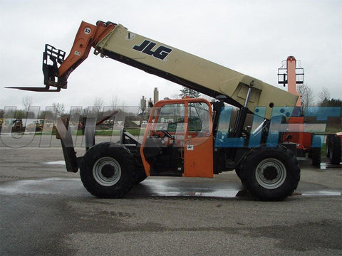 2008 JLG G10-55A 10000 LB DIESEL TELESCOPIC FORKLIFT TELEHANDLER PNEUMATIC 4WD OUTRIGGERS 7055 HOURS STOCK # BF9427029-EEMI