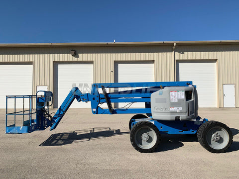 2012 GENIE Z45/25JRT ARTICULATING BOOM LIFT AERIAL LIFT 45' REACH DIESEL 4WD 2980 HOURS STOCK # BF9246679-RIL - United Lift Used & New Forklift Telehandler Scissor Lift Boomlift
