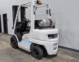 "2015 NISSAN UNICARRIERS FG25L 5000 LB LP GAS FORKLIFT PNEUMATIC 83/187"" 3 STAGE MAST STOCK # BF9171679-ILIL - United Lift Equipment LLC"