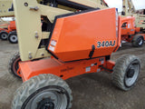 2017 JLG 340AJ ARTICULATING BOOM LIFT ONLY 621 HOURS AERIAL LIFT WITH JIB ARM 34' REACH DIESEL 4WD NEW STOCK # BF9476349-599-BUF - united-lift-equipment