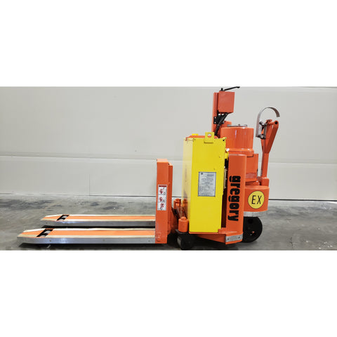 GREGORY WP4EX 4000 LB ELECTRIC WALKIE PALLET JACK CUSHION STOCK #BF91891-MYR