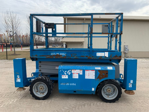 2011 GENIE GS-2668RT 1250 LBS DIESEL 26 FT. PNEUMATIC 2057 HOURS STK# BF924301-RIL