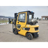 2013 CATERPILLAR 2P5000 5000 LB LP GAS FORKLIFT PNEUMATIC 83/188 3 STAGE MAST SIDE SHIFTER ENCLOSED CAB 800 HOURS STOCK # BF9296409-259-CLTMN