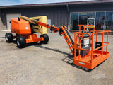 2018 JLG 450AJ ARTICULATING BOOM LIFT AERIAL LIFT WITH JIB ARM 45' REACH DIESEL 4WD 29 HOURS STOCK # BF9650539-BATNY