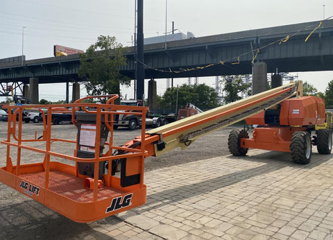 2015 JLG 800S TELESCOPIC STRAIGHT BOOM LIFT AERIAL LIFT 80' REACH DIESEL 4WD 1998 HOURS STOCK # BF9493669-NLEQ