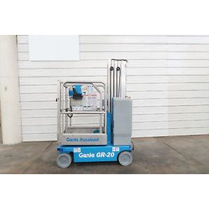 2012 GENIE GR-20 PERSONAL RUNABOUT LIFT 20' REACH ELECTRIC ONLY 230 HOURS STOCK # BF06561-DPA