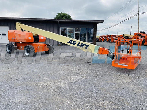 2013 JLG 800S TELESCOPIC STRAIGHT BOOM LIFT AERIAL LIFT 80' REACH DIESEL 4WD 2678 HOURS STOCK # BF9522539-BATNY