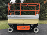 2020 JLG 3246ES SCISSOR LIFT 32' REACH ELECTRIC SMOOTH CUSHION TIRES BRAND NEW STOCK # BF9163229-ISNY - United Lift Used & New Forklift Telehandler Scissor Lift Boomlift