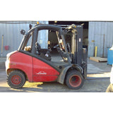 2006 LINDE H50D 10000 LB CAPACITY DIESEL FORKLIFT PNEUMATIC 95/185 3 STAGE MAST SIDE SHIFTER STOCK # BF2710-DPKN - united-lift-equipment