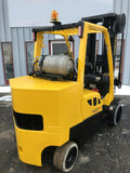 "2008 HYSTER S120FTPRS 12000 LB LP GAS FORKLIFT CUSHION 208"" 3 STAGE MAST SIDE SHIFTER 8282 HOURS STOCK # BF9421249-MWWI - United Lift Used & New Forklift Telehandler Scissor Lift Boomlift"