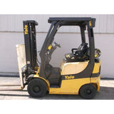2011 YALE GLP030 3000 LB LP GAS FORKLIFT PNEUMATIC 83/187 3 STAGE MAST SIDE SHIFTER 6793 HOURS STOCK # BF34529-DPKN