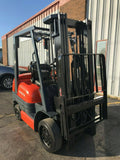 "1998 TOYOTA 6FGU25 5000 LB LP GAS FORKLIFT CUSHION 189"" 3 STAGE MAST SIDE SHIFTER 12796 HOURS STOCK # BF9437449-MWWI - United Lift Used & New Forklift Telehandler Scissor Lift Boomlift"