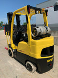 2012 HYSTER S60FT 6000 LB LP GAS FORKLIFT CUSHION 85/187 3 STAGE MAST SIDE SHIFTER STOCK # BF934422-RIL