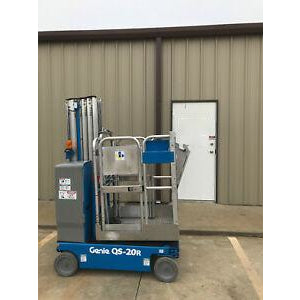 2010 GENIE QS-20 PERSONAL RUNABOUT LIFT 20' REACH ELECTRIC 431 HOURS STOCK # 6799-317742-ARB