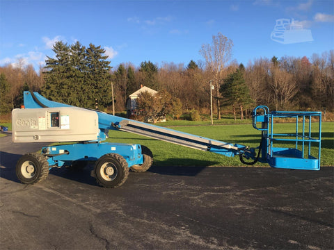 2012 GENIE S40 TELESCOPIC BOOM LIFT AERIAL LIFT 40' REACH DIESEL 4WD 2249 HOURS STOCK # BF9321709-ISNY