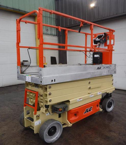 2011 JLG 2630ES SCISSOR LIFT 26' REACH ELECTRIC CUSHION TIRES 344 HOURS STOCK # BF991249-NLEQ