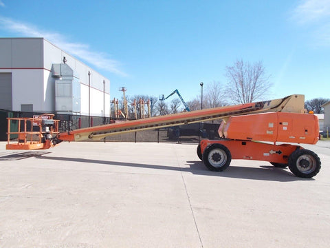 2011 JLG 800S TELESCOPIC BOOM LIFT AERIAL LIFT 80' REACH DIESEL 4WD STOCK # BF924333-RIL - United Lift Used & New Forklift Telehandler Scissor Lift Boomlift