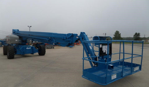 2008 GENIE S125 TELESCOPIC BOOM LIFT AERIAL LIFT 125' REACH DIESEL ONBOARD GENERATOR 4WD 3400 HOURS STOCK # BF96649R9-FILB - united-lift-equipment