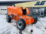 2012 JLG 660 SJ TELESCOPIC BOOM LIFT AERIAL LIFT WITH JIB ARM 66' REACH DIESEL 4WD 3832 HOURS STOCK # BF9546299-BATNY - United Lift Used & New Forklift Telehandler Scissor Lift Boomlift