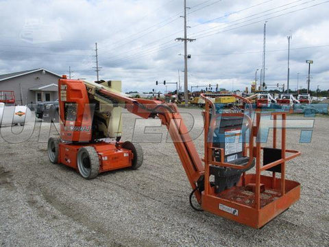 2007 JLG E300AJ ARTICULATING BOOM LIFT AERIAL LIFT 30' REACH ELECTRIC 1662 HOURS STOCK # BF9115179-CEIL