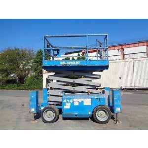 2011 GENIE GS3268RT SCISSOR LIFT 32' REACH DUAL FUEL ROUGH TERRAIN 4WD 1845 HOURS STOCK # BF9175219-ESPA
