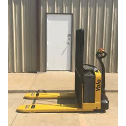 2013 YALE MPW050 5000 LB ELECTRIC WALKIE PALLET JACK CUSHION 600 HOURS STOCK # 3144-04689K-ARB