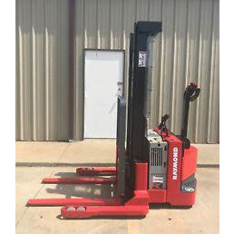 2005 RAYMOND RSS40 4000 LB ELECTRIC FORKLIFT WALKIE STACKER CUSHION SIDE SHIFTER 3922 HOURS STOCK # 5520-502016-ARB - united-lift-equipment