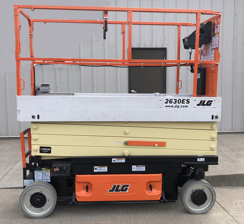 2021 JLG 2630ES SCISSOR LIFT 26' REACH ELECTRIC CUSHION TIRES (2013 CORE JLG FACTORY RECONDITIONED) STOCK # BF9130059-ISNY - United Lift Equipment LLC