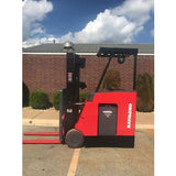 2008 RAYMOND DSS 300 3000 LB 36 VOLT ELECTRIC DOCK STOCKER FORKLIFT 83/189 3 STAGE MAST 3640 HOURS STOCK # 8712-353489-ARB