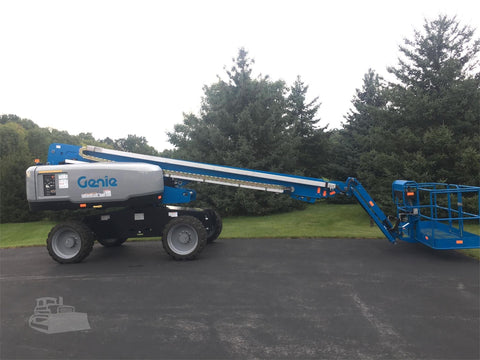 2016 GENIE S65 TELESCOPIC BOOM LIFT AERIAL LIFT 65' REACH DIESEL 4WD 98 HOURS STOCK # BF9891729-ISNY