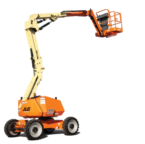 2019 JLG 340AJ ARTICULATING BOOM LIFT AERIAL LIFT WITH JIB ARM 34' REACH DIESEL 4WD NEW STOCK # BF9576349-699-BUF - united-lift-equipment