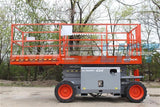 2008 SKYJACK SJ6826RT SCISSOR LIFT 26' REACH DUAL FUEL PNEUMATIC TIRES 2238 HOURS STOCK # BF9016899-RIL2