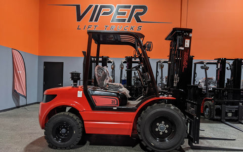 "2021 VIPER RTD35 8000 LB DIESEL FORKLIFT PNEUMATIC 92/189"" 3 STAGE MAST SIDE SHIFTER STOCK # BF9394429-ILIL - United Lift Used & New Forklift Telehandler Scissor Lift Boomlift"