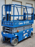 2014 GENIE GS2032 SCISSOR LIFT 20' REACH ELECTRIC SMOOTH CUSHION TIRES 216 HOURS STOCK # BF9252769-RIL